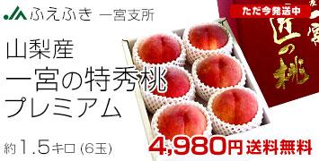一宮プレミアム桃1.5kg