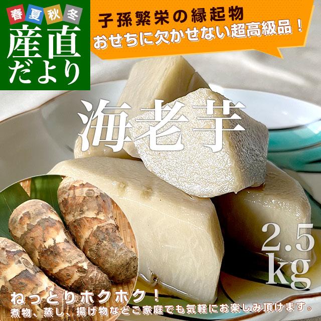 海老芋 約2.5キロ